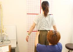 神戸市西区 笑み整骨院:姿勢矯正の写真