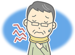 神戸市西区の笑み整骨院:むちうちのイメージイラスト